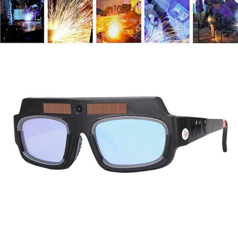 2020 New Solar Powered Auto Darkening Welding Mask Helmet Eyes Goggle Welder Glasses