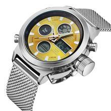BIDEN 2019 Men Watch Multifunction Fashion Sports Wrist Watches Stainless Steel Multiple Time Zone Waterproof Relogio Masculino