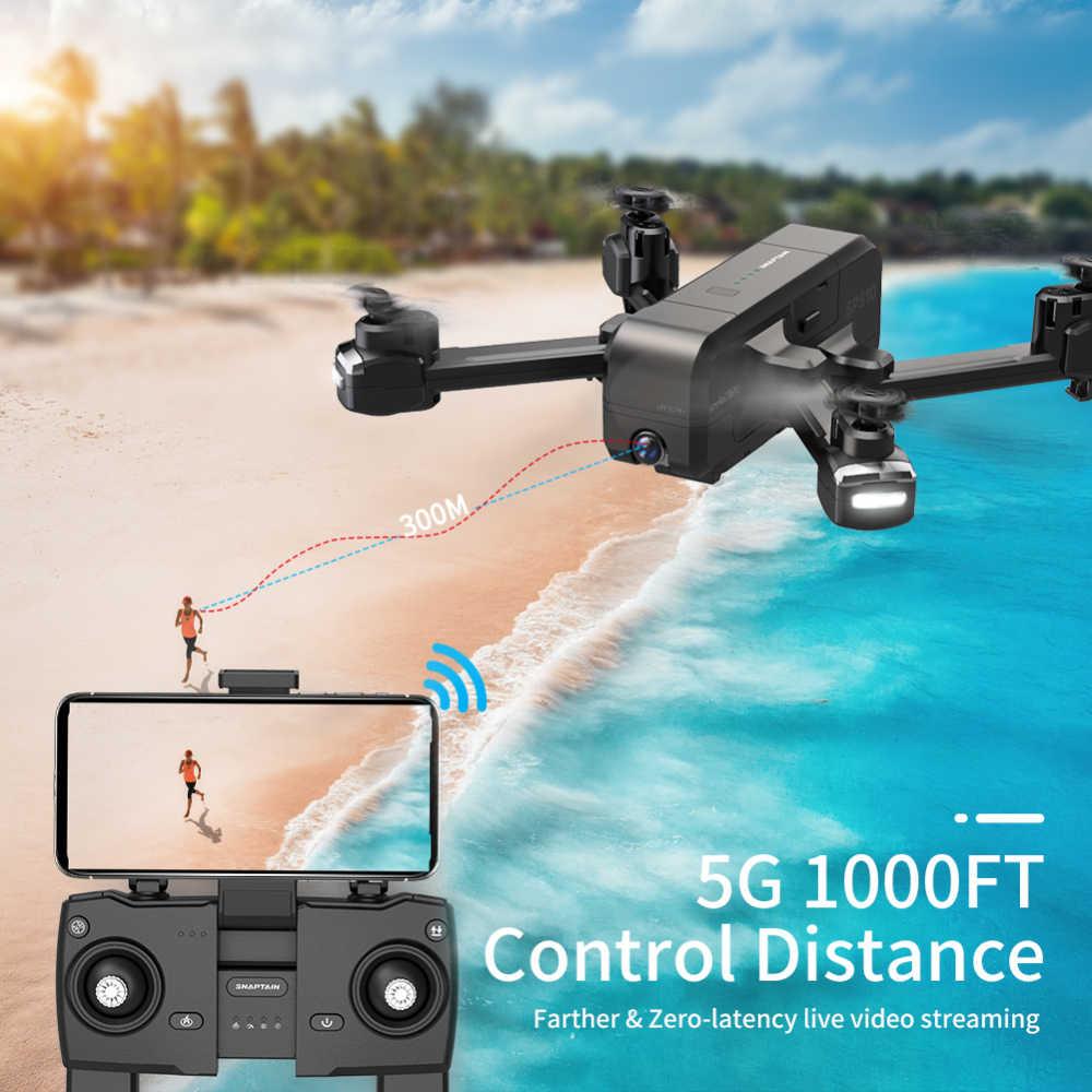 Snaptain SP510 折りたたみgps fpvドローンと 2.7 18kカメラhdライブビデオrc quadcopter gps自動復帰のためのドローン初心者大人