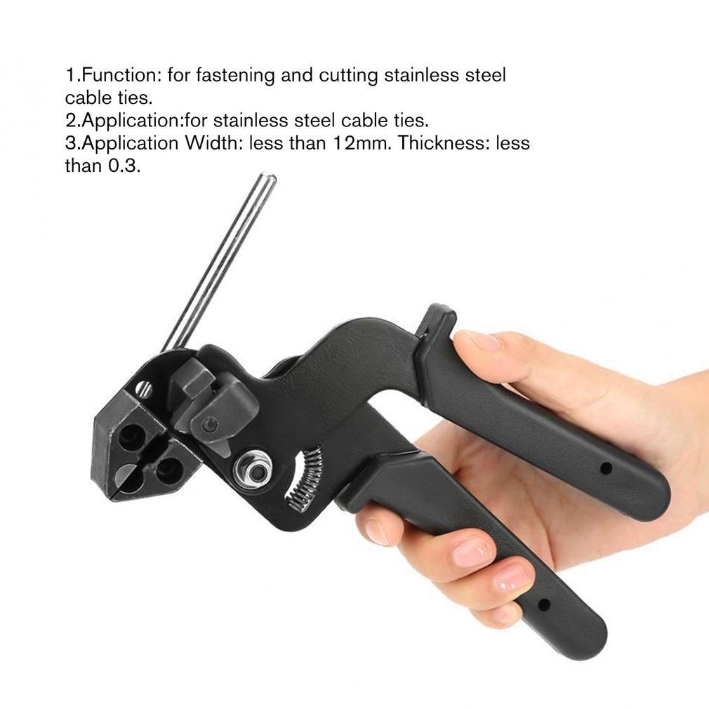 Herramienta de sujeci/ón de tensi/ón para tensar y cortar alambre de nailon de 2,4 a 4,8 mm Pistola de amarre