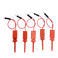 25 шт. красный логический анализатор Полезная Высокая эффективность зажим идеальный тест Hood провода