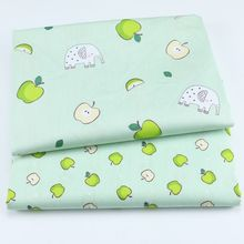 Cotton Twill Fabric Patchwork Printed Textile DIY Sewing Kids Dress Dormitory Decoration Thin Cloth
