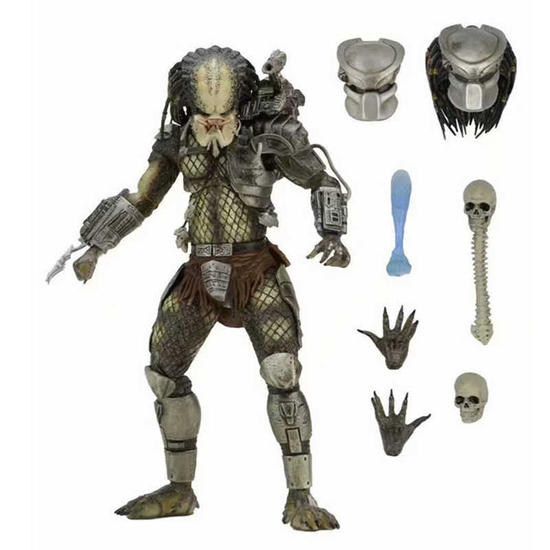 NECA Avp Aliens Vs Predator Serie Alien Bund Elder Predator Schlange Hunter Youngblood Predator Film Spielzeug Action-figuren