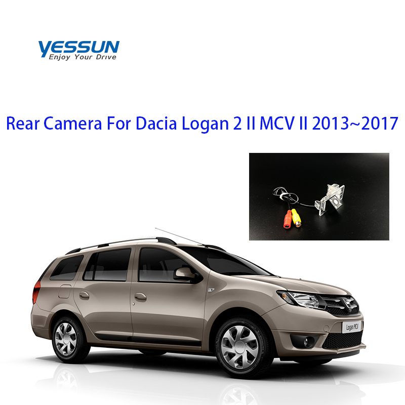 Yessun Special Car Rear View Reverse Backup Camera Rearview Parking  For Dacia Logan 2 II MCV II 2013~2017