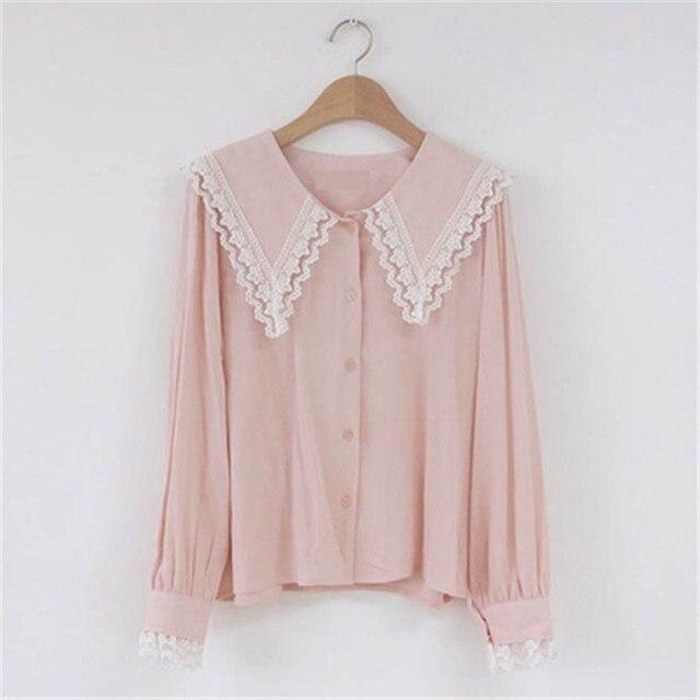Фото новое поступление 2020 блузка для ранней осени рубашка корейские цена