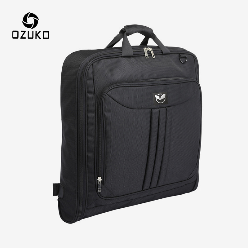 OZUKO Multifunction Travel Bag Men Luggage Bag For Business Travel Large Capacity Waterproof Handbag Suit Storage Duffle Bags