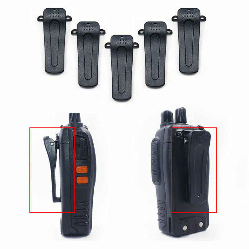 143 5PCS Walkie Talkie Belt Clip,UV5R Belt Clip Two-Way Radios Walkie Talkie Belt Clip