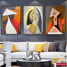Picasso Abstract Famous Painting Art Posters and Prints Canvas Paintings Wall Art Pictures for Living Room Decor (No Frame)