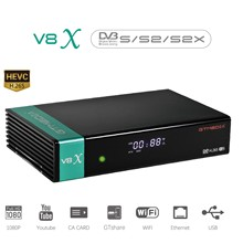 NEW 2020 GTmedia V8X Satellite TV Receiver DVB-S2/S2X CA Bui