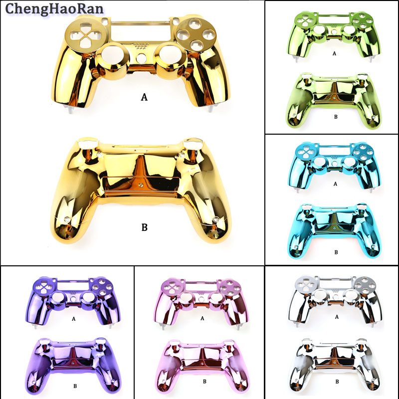 Suitable For Sony PS4 Handle Shell Plating Gold Handle Shell Upper Shell Sub-shell Assembly