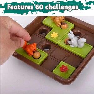 Image 4 - リスナットを行くスライドパズル旅行ゲーム子供のための認知スキル脳ゲーム年齢のため6 60チャレンジで旅行にやさしいケース