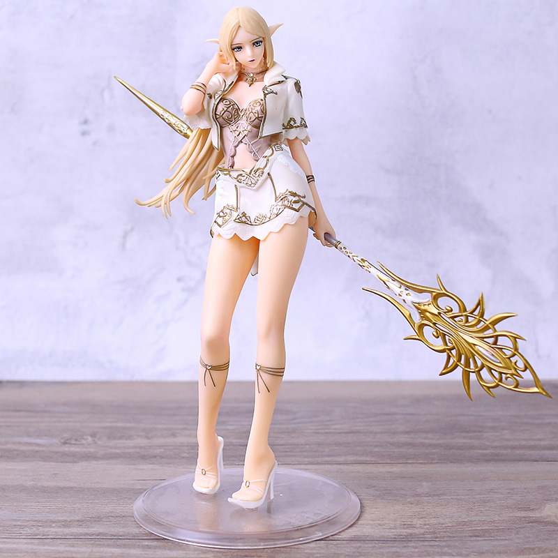Lineage 2 Elf 1/7 Scale PVC Figure <font><b>Sexy</b></font> <font><b>Girl</b></font> Model Doll Toy image
