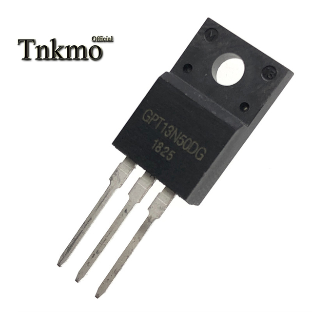 10PCS GPT13N50DG TO 220F GPT13N50D TO220F GPT13N50 13N50DG 13N50 N channel FET 13A 500V New and original