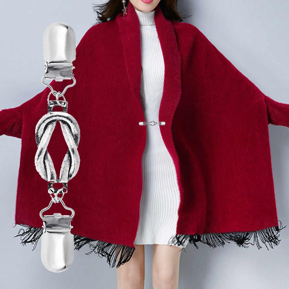 Ретро свитер рубашка платье брошь для шали открытая Пряжка Одежда украшение кардиган для рубашки булавка пальто Бижутерия Аксессуары