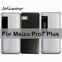 Meizu Pro7 Plus 배터리 커버 케이스 (Meizu Pro 7 Plus 후면 도어 하우징  전원 측면 버튼 포함)