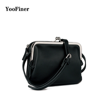 2019 New arrival PU solid color two-layer bag magnetic buckle zipper crossbody bag simple pure color small square bag female color splicing faux pearl magnetic closure crossbody bag