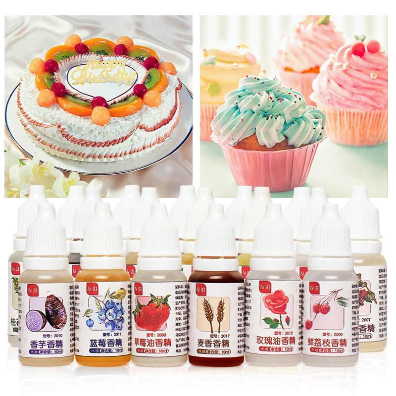 Aroma mágico para comida de grado alimenticio, 10ML, bebidas de fragancia de gelatina, dulces, esencia comestible utilizada para hornear galletas, leche, jabón hecho a mano, especias