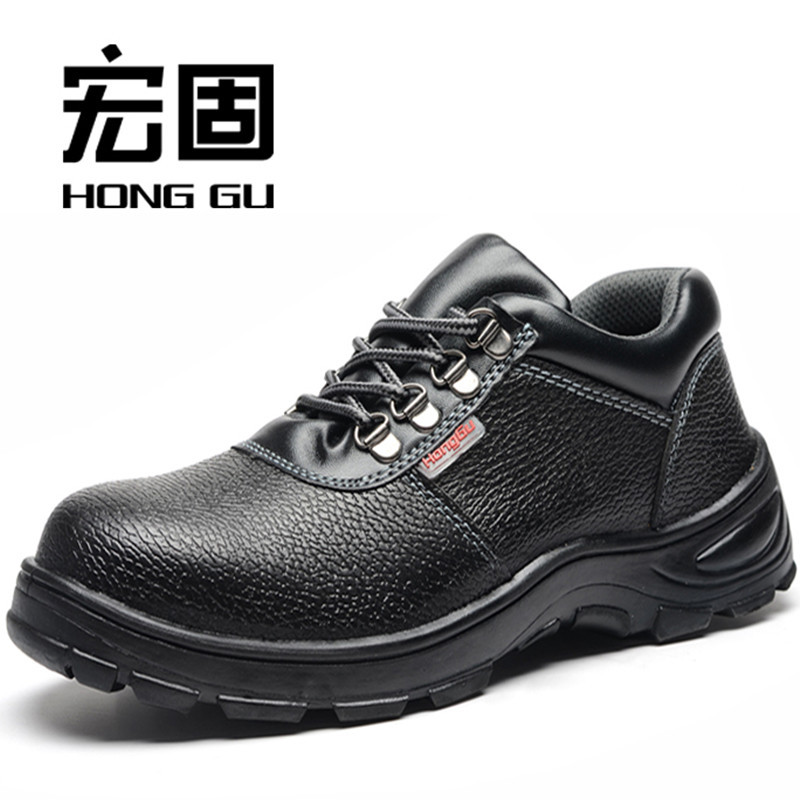 Currently Available Wholesale Safety Shoes Protective Shoes Smashing Anti Puncture Anti-slip Acid And Alkali Resistant Manufactu