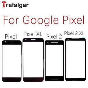 For Google Pixel 3 3A XL Front Glass Lens Outer Touch Screen Panel Cover For Google Pixel 2 XL Front Screen Lens 2XL Replacement