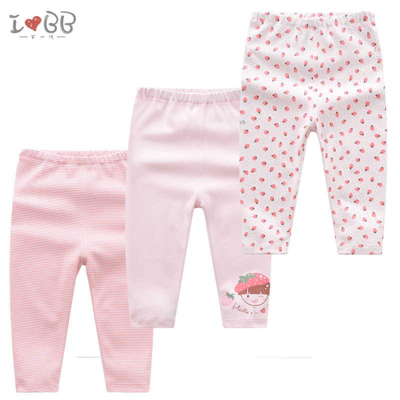 2 piezas pantalones de bebé niñas pantalones calientes ropa para niños pequeños ropa suave de algodón rosa lindo