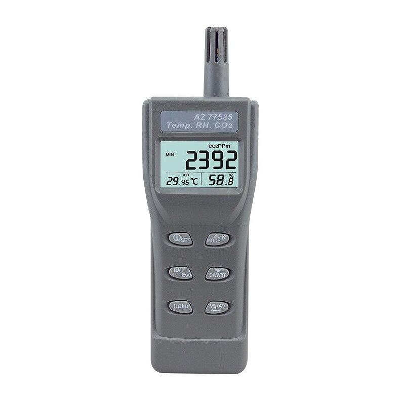Az-77535 Handheld Co2 Detector ,Carbon Dioxide Gas Detector Tester