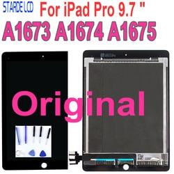 Оригинальный ЖК-для ipad Pro 9,7 A1673 A1674 A1675 ipad 7 ЖК-дисплей сенсорный экран дигитайзер сборка Замена MM172CH