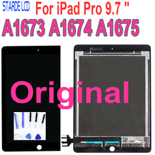 цена на Original LCD For ipad Pro 9.7 A1673 A1674 A1675 ipad 7 LCD Display Touch Screen Sense Digitizer Assembly Replacement MM172CH