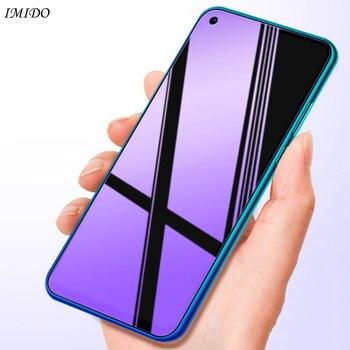 Перейти на Алиэкспресс и купить Полное покрытие стекло для Huawei Nova 5 T 5i анти-синий протектор экрана закаленное стекло для Huawei Nova 5 T 5i 5Z 6 SE 6SE 5 T протектор