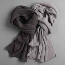 2019 NEW arrived men scarf knit spring Unisex Thick Warm winter scarve