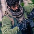 100% хлопковый шарф военные мужские зимние военные ветрозащитные шарфы утолщенные квадратные женские шарфы