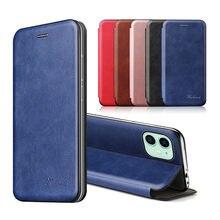 Carteira de couro luxo flip caso do telefone para apple iphone 12 11 pro max se 2020 6 7 8 plus caso suporte magnético livro coque capas