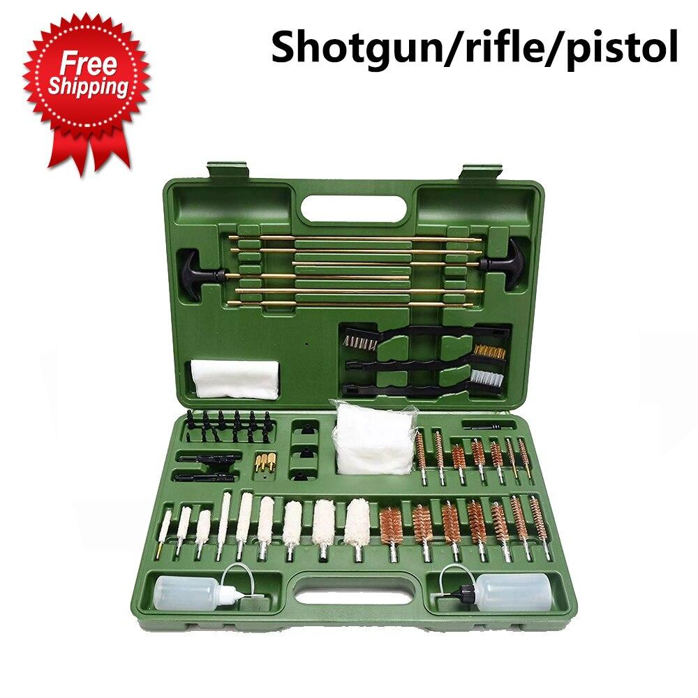 45 Cal Tactical uniwersalny lufa myśliwska szczotka M16 pistolet ręczny zestaw do czyszczenia