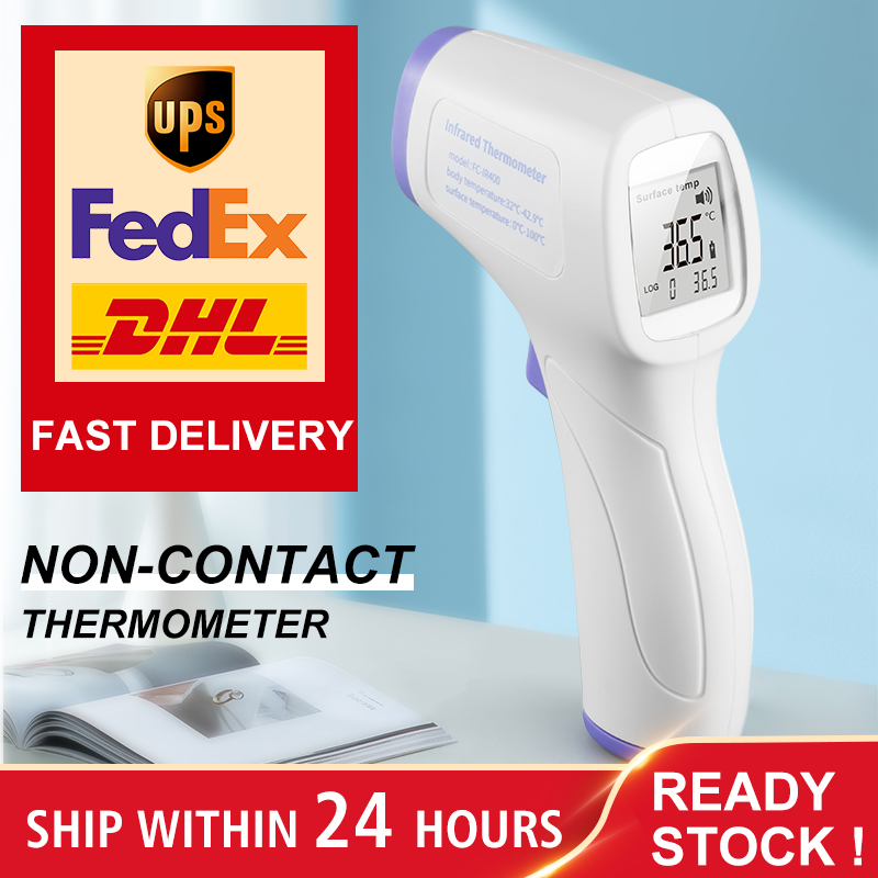 Non-Contact Body Infrared Forehead Thermometer For Adults And Children With Lcd Display Digital Laser Temperature Tool CE FDA