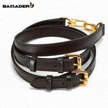BAMADER Brand high quality Solid Color Genuine Leather Shoulder Strap Luxury fashion Bag strap Messenger Accessor