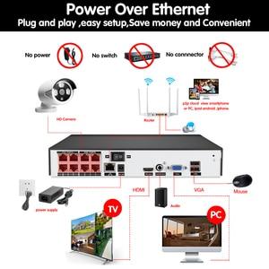Image 2 - HCVAHDN 8CH 5MP POE NVR Xmeye CCTV Systeem 4.0MP Indoor Outdoor PoE IP Camera IR Nachtzicht Video Security Surveillance kits