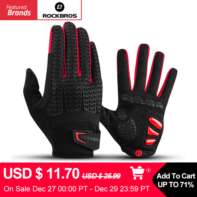 Windproof Thermal Warm Cycle Winter Bike Gloves