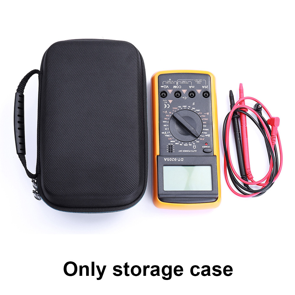 Shockproof Protective Travel EVA Carry Case Durable Digital Multimeter Cover Hard Storage Bag For Fluke F117C/ F17B+/ F115C