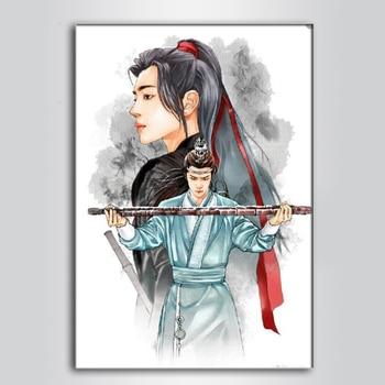 Pintura de diamante 5d Diy, Mo Dao Zu Shi Wei Wuxian Lan...