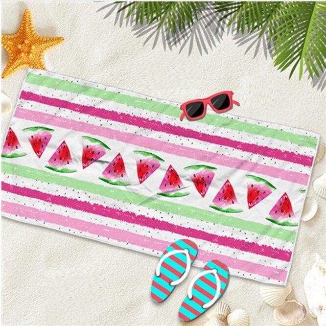 Microfiber Beach Towel Pink Summer Bath Towels For Adults Big Beach Mat Yoga mat Quick Dry Swimming Pool Poncho Blanket Travel