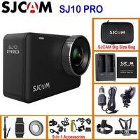 SJCAM SJ10 Pro Gyro EIS supersuave 4K 60FPS WiFi Remote Cámara de Acción Ambarella H22 Chipset 10m cuerpo impermeable videocámara DV