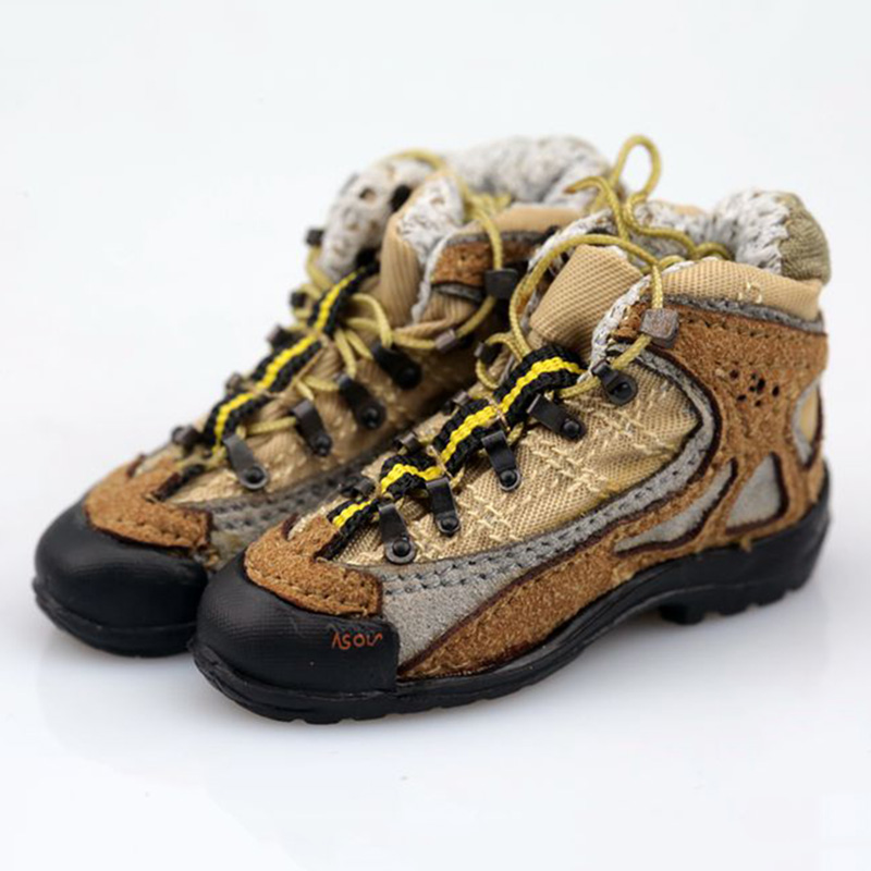 Bottes de combat plates à l/'échelle 1//6 figure chaussures pour homme