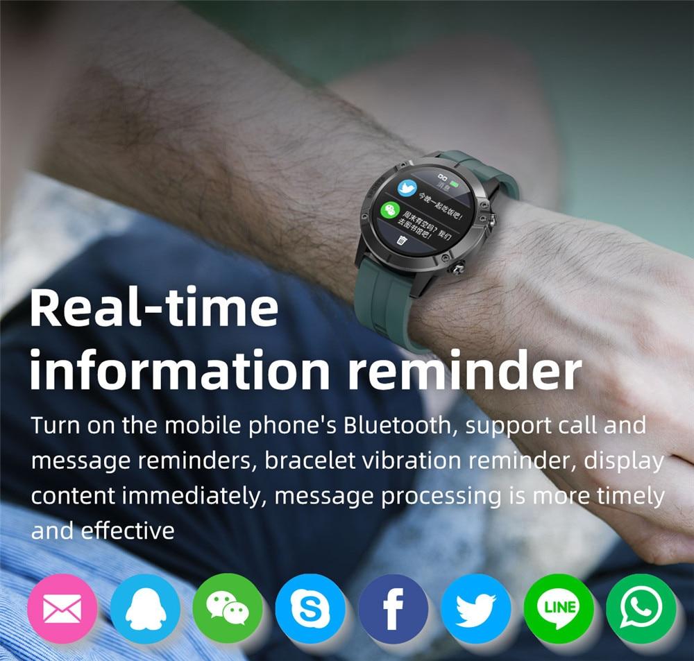 2020 Smart Watch For Men Women Pedometer Smartwatch Blood Pressure Full Touch Electronic Fitness Tracker Watch