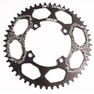 Image 3 - Deckas 104BCD 40/42/44/46/48/50/52T Mountain Fiets Kettingwiel Mtb fiets Crankstel Aluminium Smalle Brede Kettingblad Bcd 104