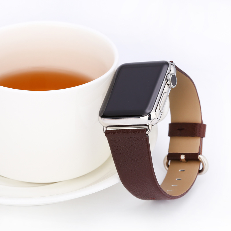 For Apple Series Watch Strap APPLE Watch1/2/3/4-Genuine Leather Watch Band IWatch Fashion Casual