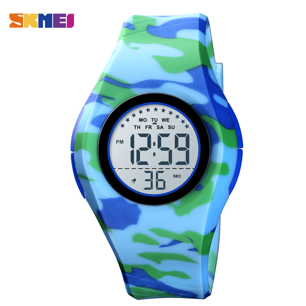 SKMEI Children's Watches Luxury Digital Watch Kid Watch Waterproof Chronograph Bracelet Boy's Watches Fashion Girl Clock