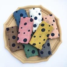 Весенний хлопковый шарф для маленьких мальчиков и девочек, шаль, модные шарфы, мягкие шали, льняной шейный платок, шифон, осень