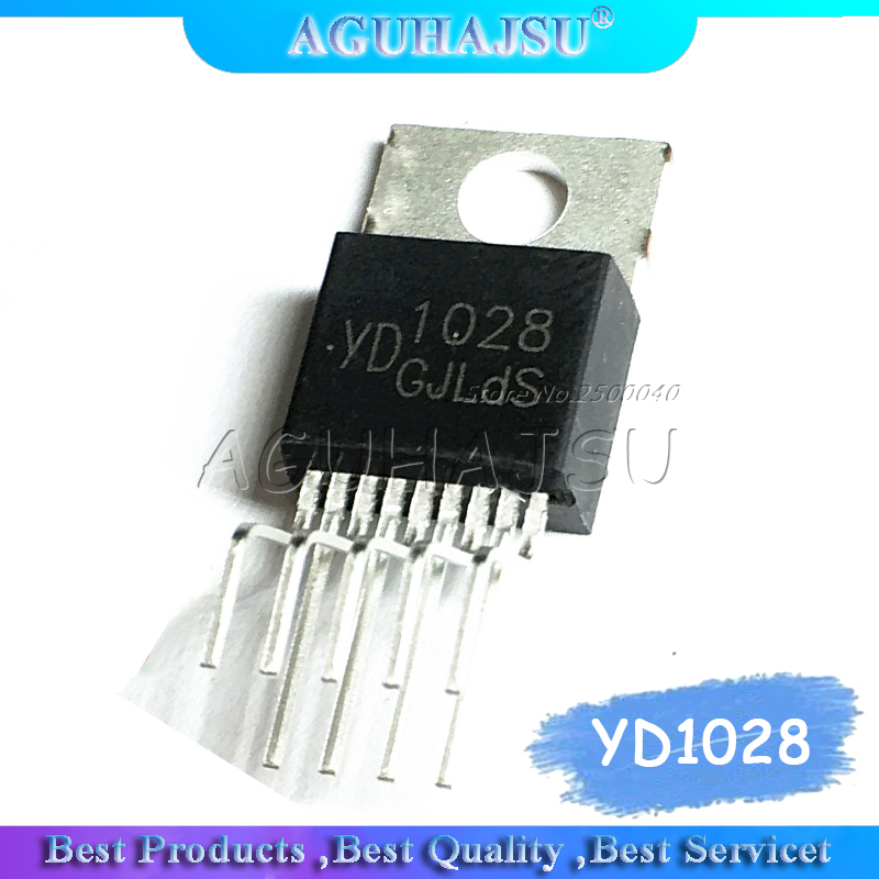 5pcs/lot YD1028 <font><b>1028</b></font> new original TO220-9 1028TO-220 Two-channel audio power amplifier tube image