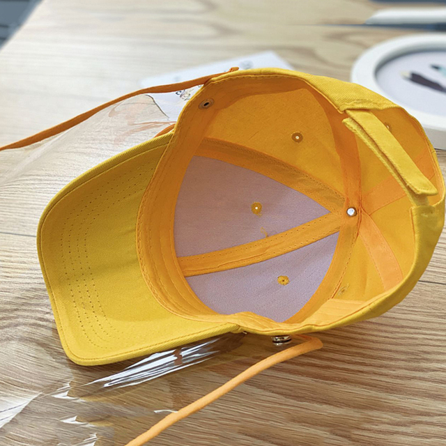 Multifunctional children's baseball Anti-saliva Dustproof Face Cover Mask Baseball Cap Children Kids Protective Hat sun hat 4