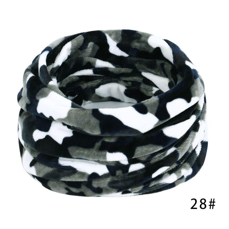 Новинка, осенне-зимний женский шарф с принтом для женщин, модный бархатный тканевый шарф, мягкий удобный женский винтажный шарф - Цвет: 28