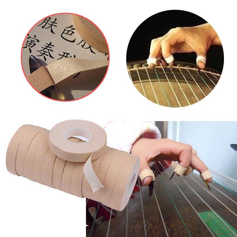 1 рулон клейкой защитной ленты для ногтей для guzheng и Pipa lute палочки Музыкальные инструменты аксессуары 1 см X 500 м